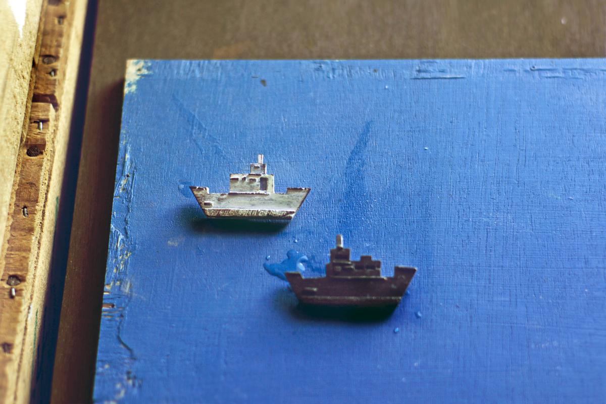 サビの造船をしよう
